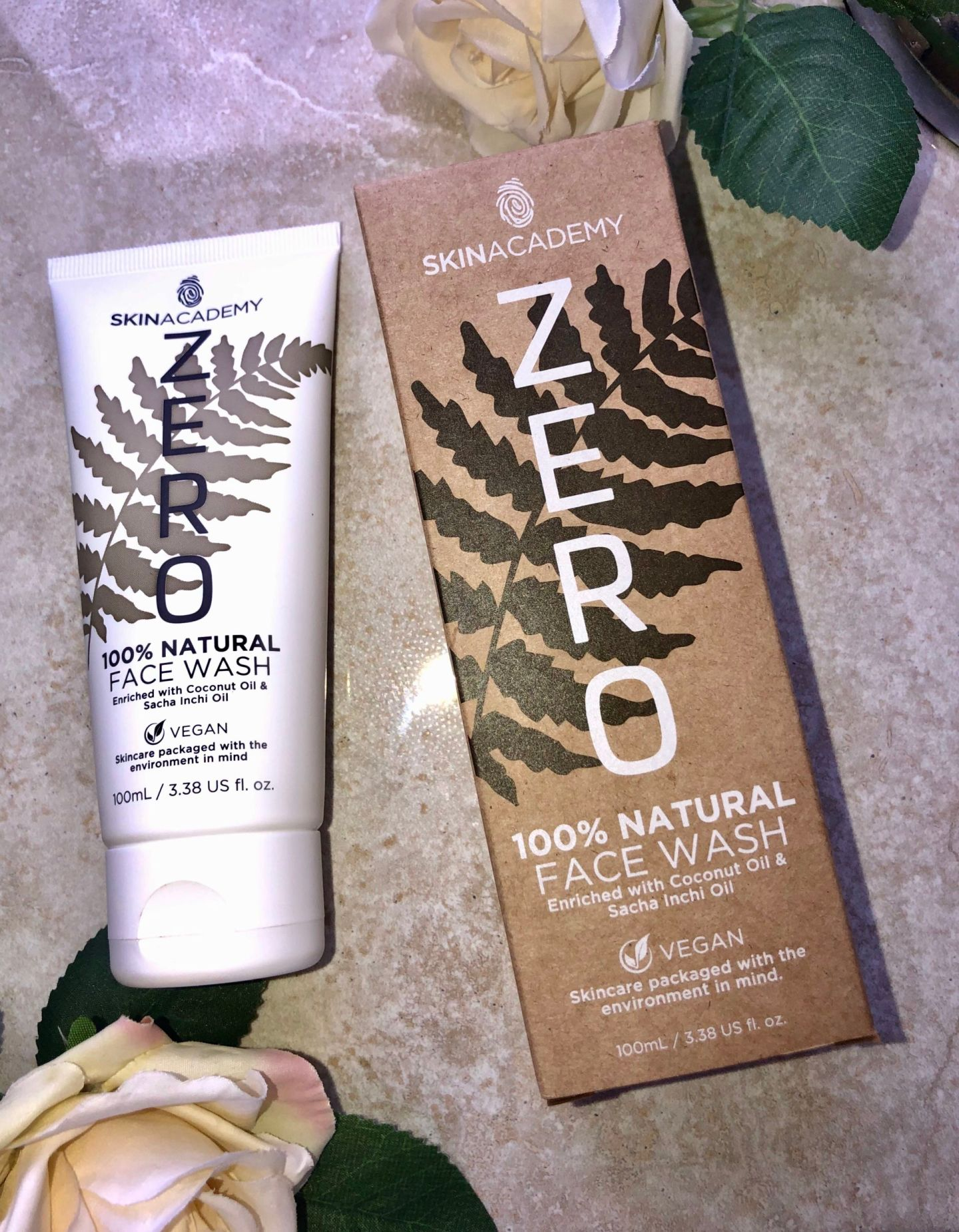 Skin Academy ZERO Skincare Review - FACE WASH