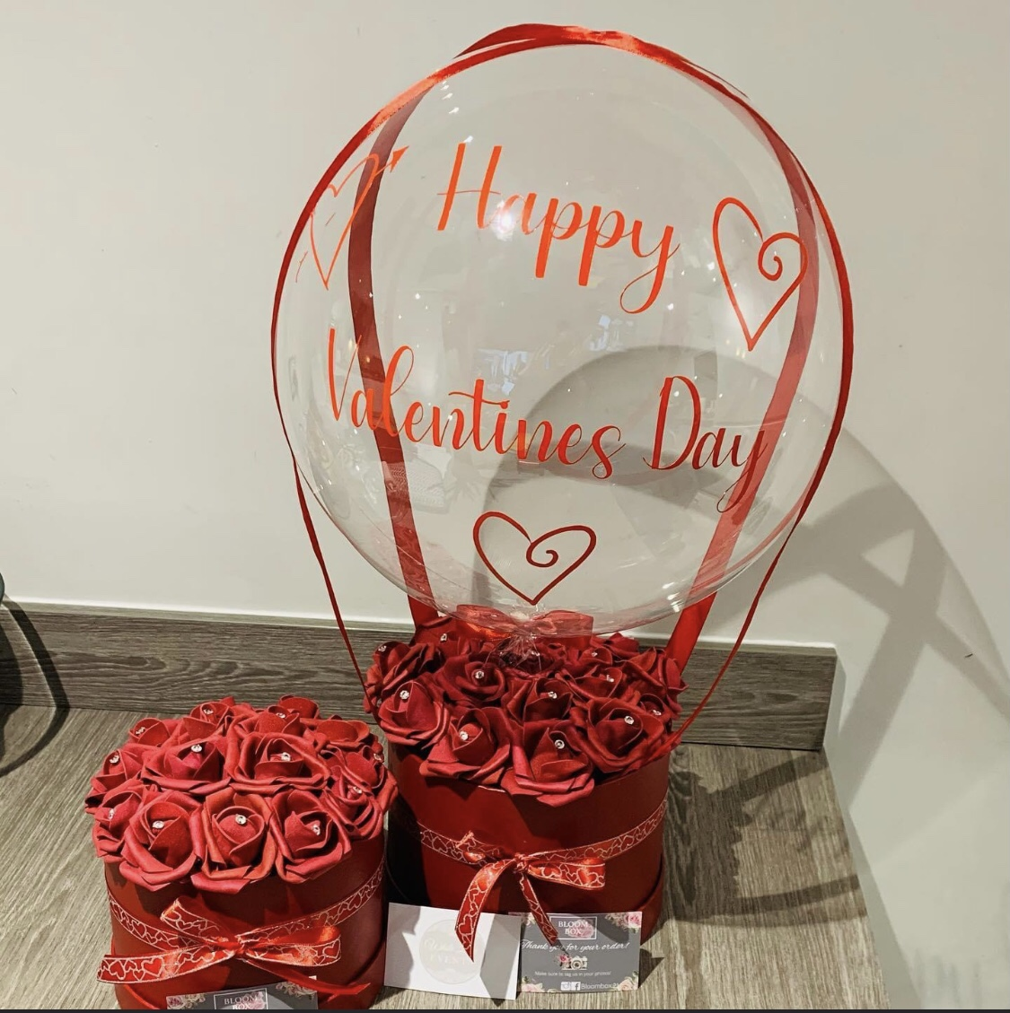 Valentines Day Gift Ideas for Lockdown - balloons