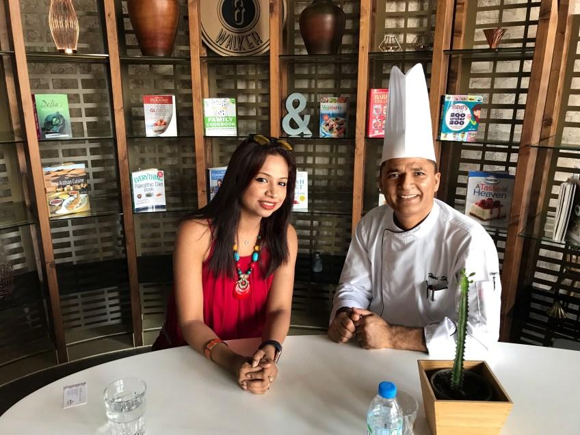 Chef Hari at Skye & walker