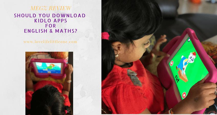 Kidlo app for kids english & maths