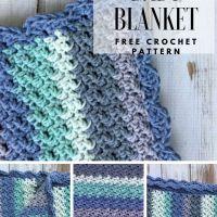 Hydrangea Baby Blanket - Free Crochet Pattern