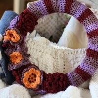 Fall Wreath - Free Crochet Pattern