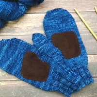 Simple Driving Mittens - Free Knitting Pattern