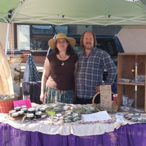 John and Nicki proudly own and operate Lovelight Herb Farm selling plants, herb and flower seeds.
