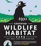 You can certify any garden as a wildlife habitat and celebrate with the National Wildlife Federation