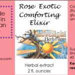 rose exotic label