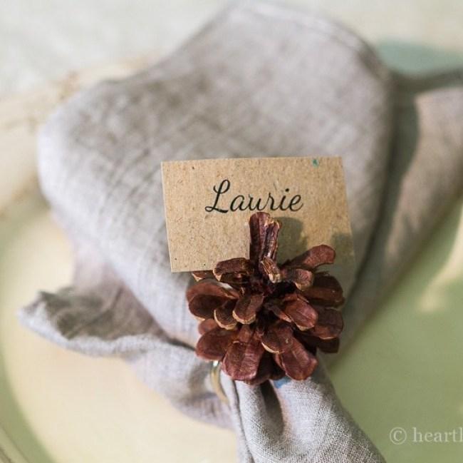 pine-cone-napkin-name-tag