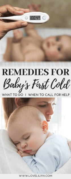 Remedies for Baby's First Cold