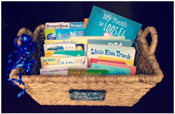 Babys-First-Library-Gift-Basket-Collage