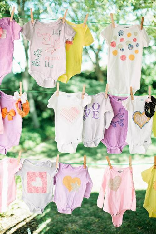 baby-shower-crafts-decorate-baby-onsie