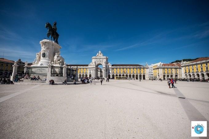 Portugal Lisbonne Praça do Comércio (Terreiro do Paço) Blog voyage Love Live Travel