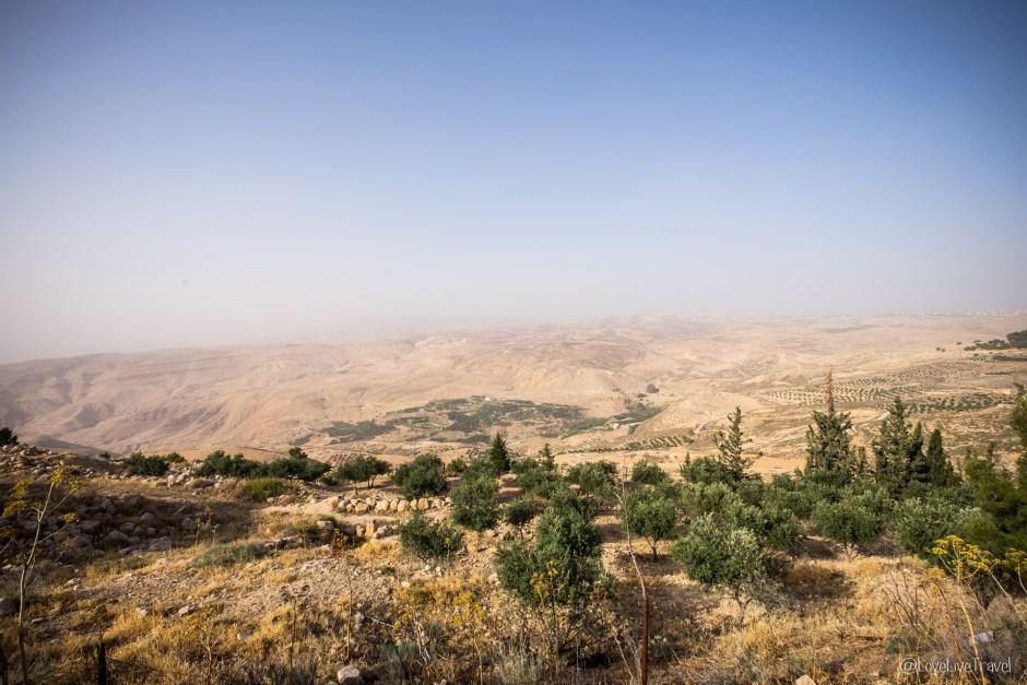 Jordanie mont Nebo blog voyage Lovelivetravel