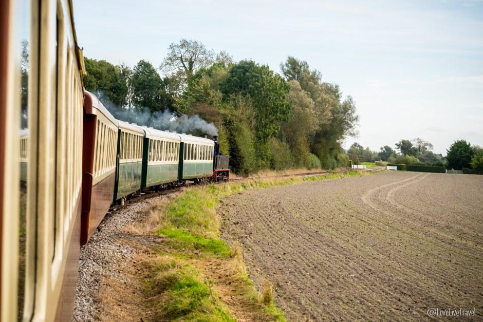 Baie de somme train vapeur Hauts de France blog voyage lovelivetravel