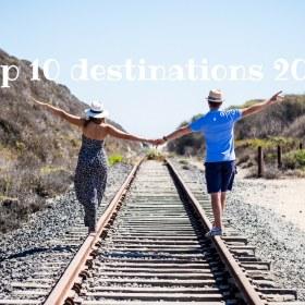 Notre top 10 pour te donner envie de voyager en 2017