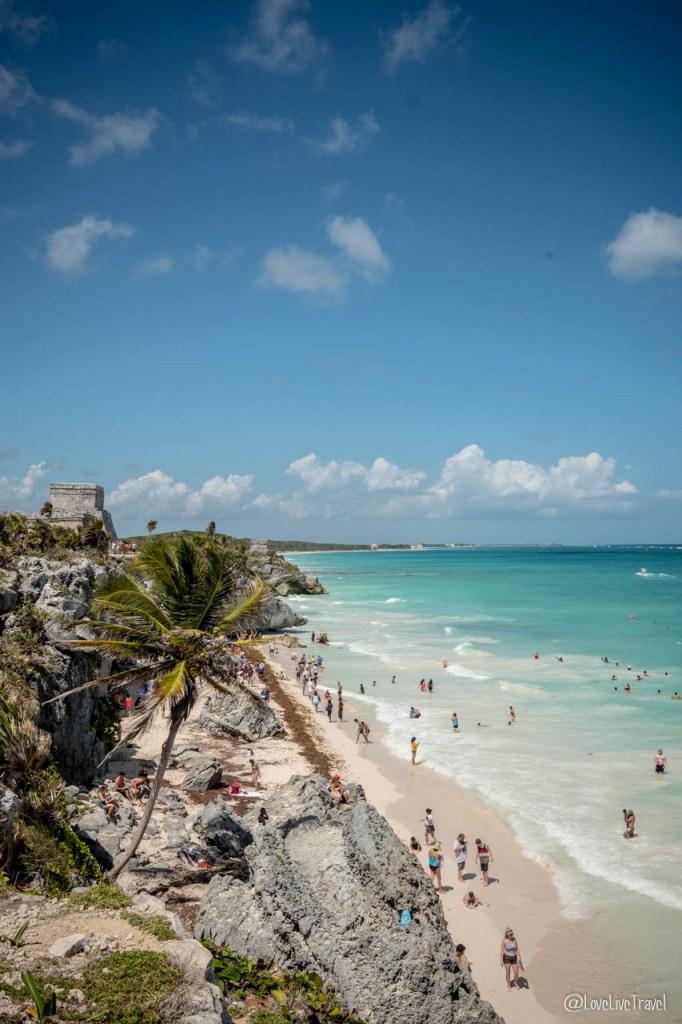 playa paraiso tulum mexique blog voyage lovelivetravel