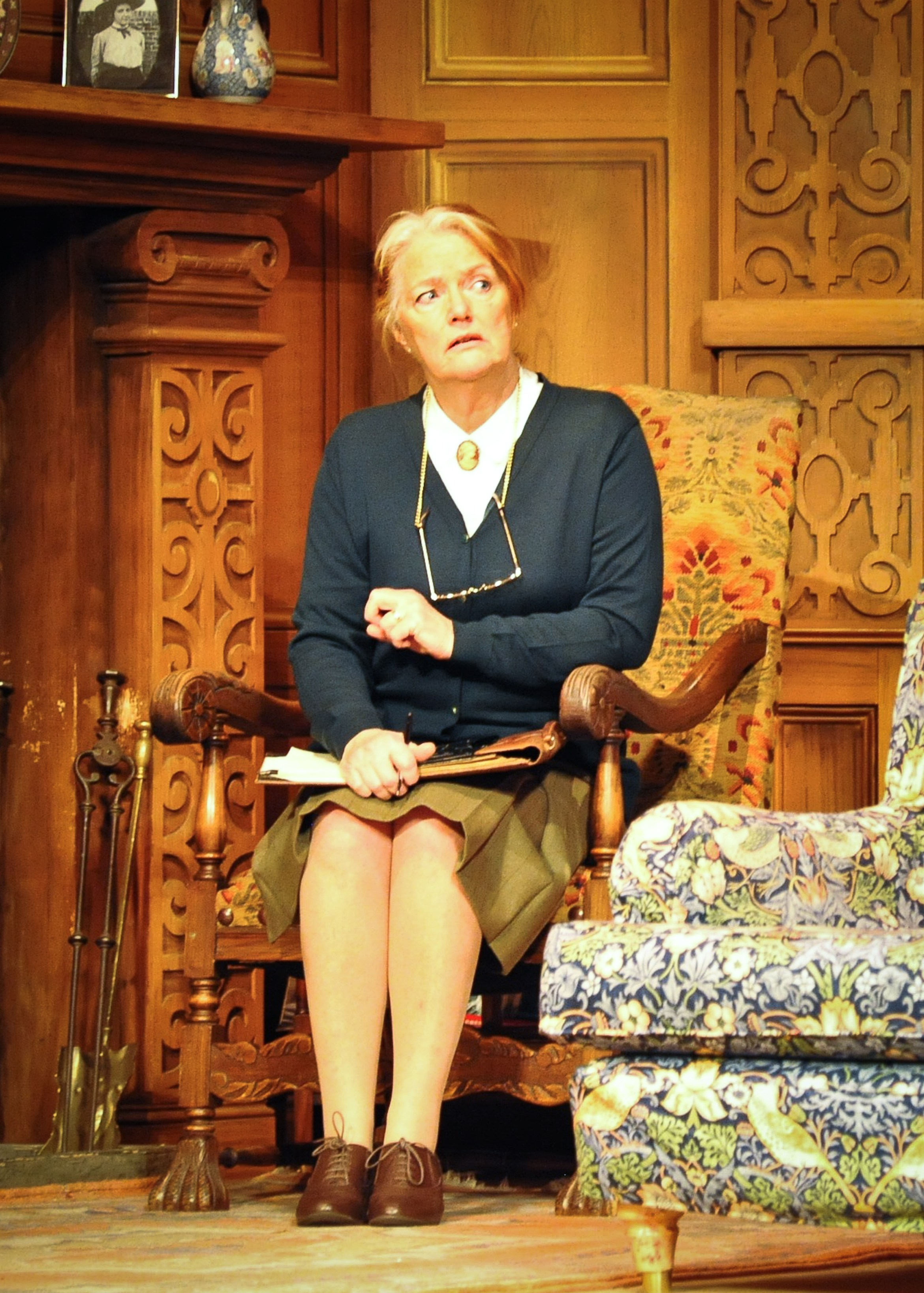 Louise Jameson (Mrs Boyle) in the 60th Anniversary Tour of Agatha Christie's The Mousetrap. Credit Liza Maria Dawson.jpg