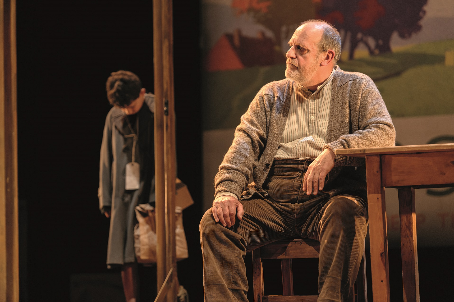 1. Alex Taylor-McDowall (William) and David Troughton (Tom Oakley) in Goodnight Mister Tom 2015 Credit Dan Tsantilis.jpg.jpg