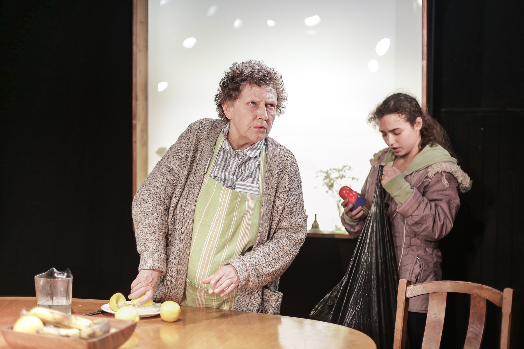 Russian Dolls at King's Head Theatre, Stephanie Fayerman and Mollie Lambert_1 © Andreas Grieger.jpg