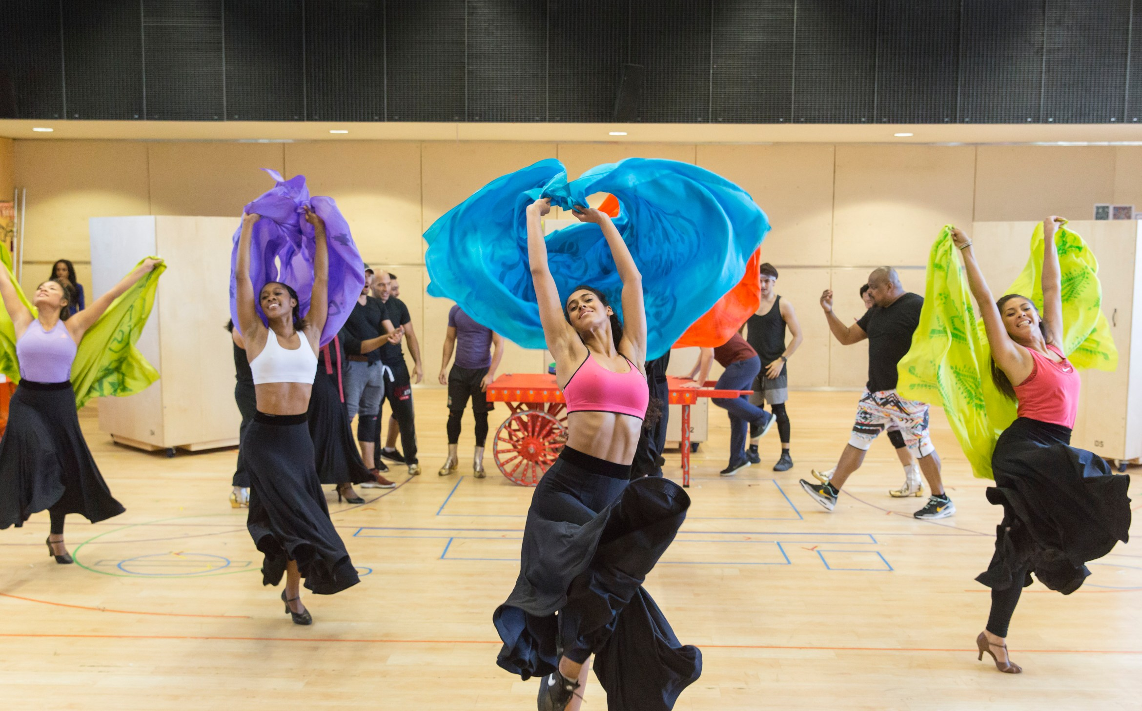 Disney's Aladdin in rehearsals Credit Johan Persson.jpg