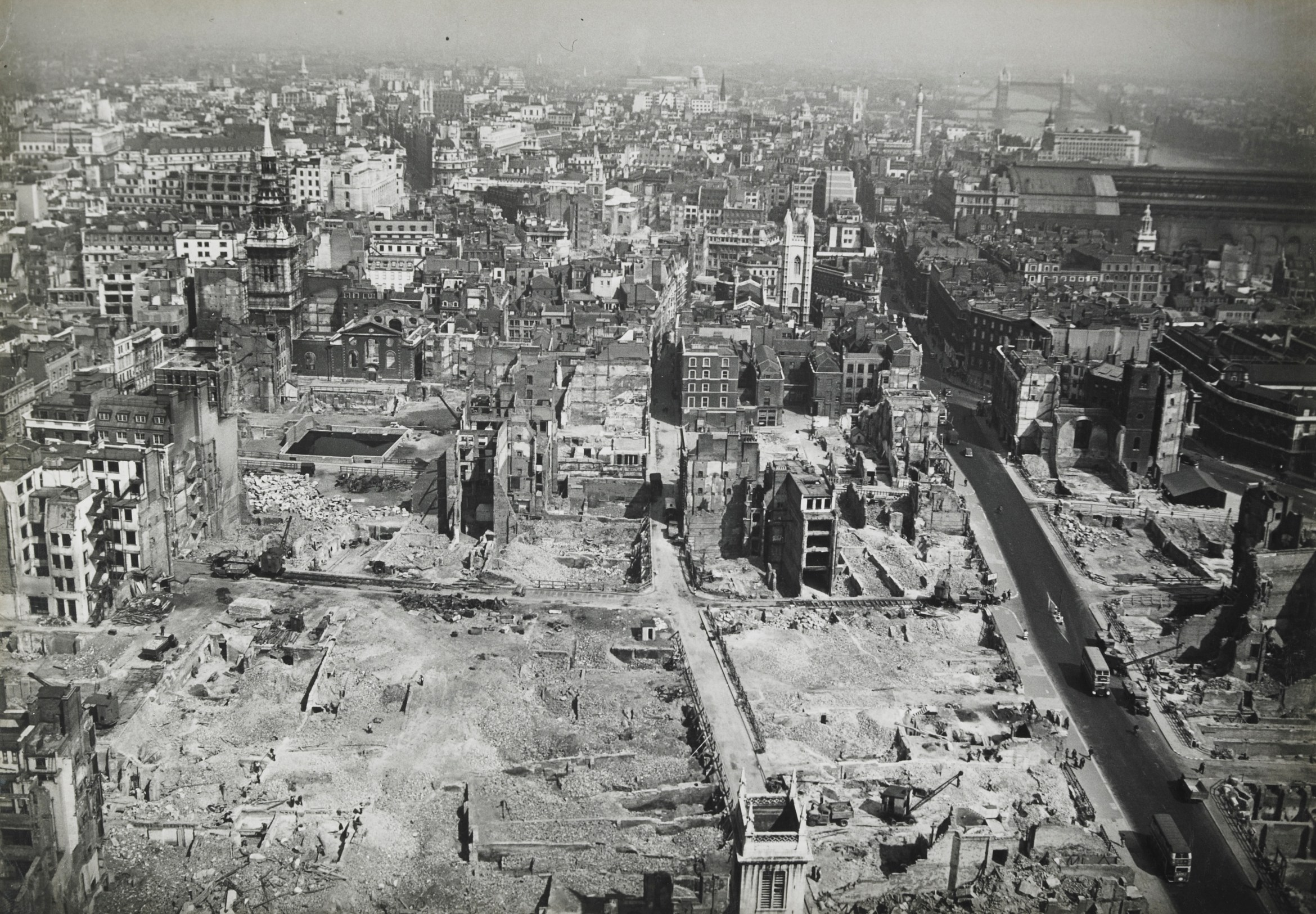 View from St. Paul%27s to the East%2c c.1945%2c Arthur Cross and Fred Tibbs.jpg
