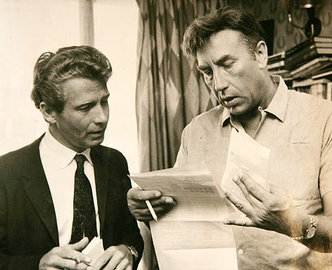 HOWERDS END Dennis Heymer and Frankie Howerd