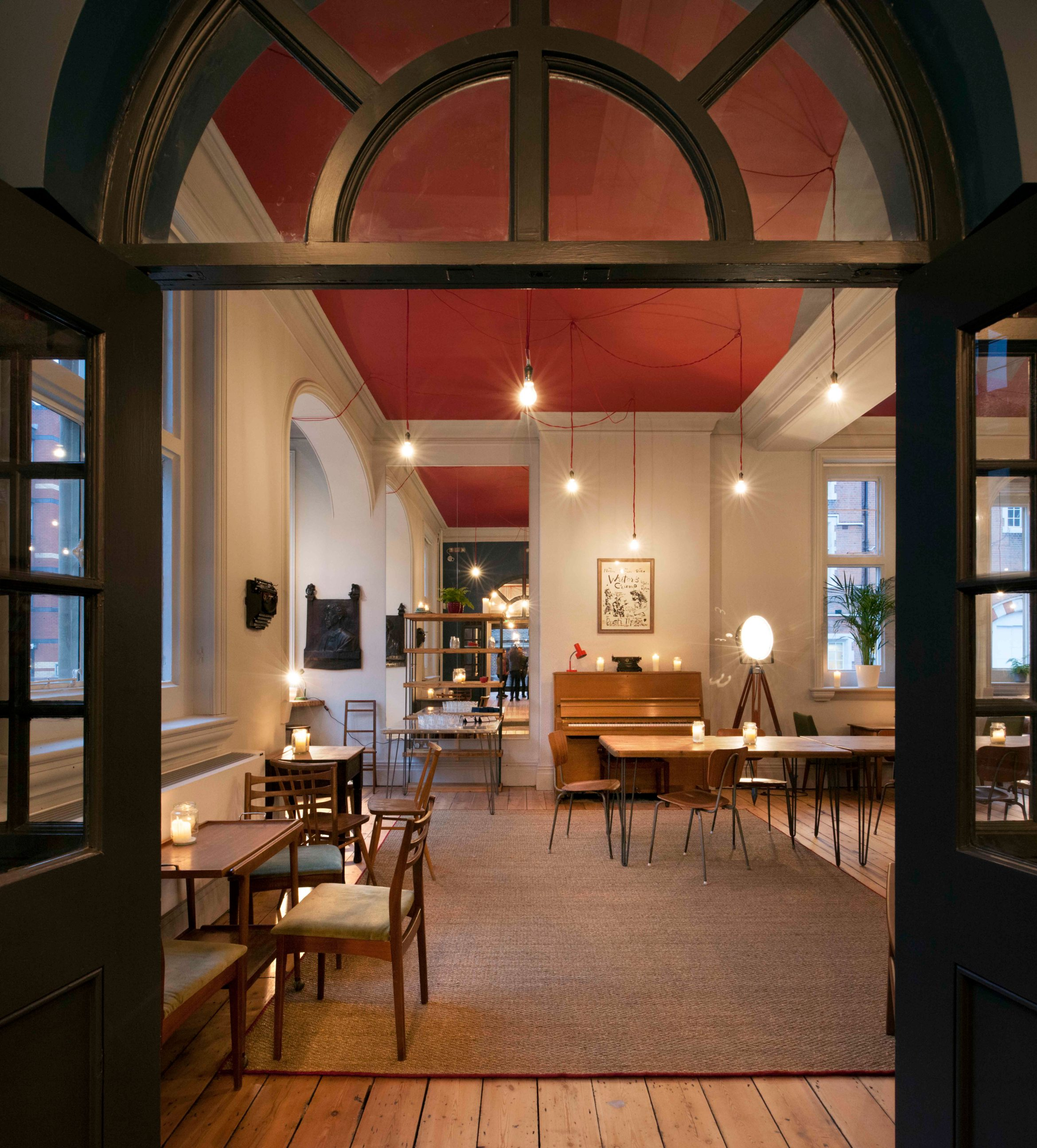 View into the reading room. Bush Theatre reopens. Photographer Philip Vile. Low res.jpg