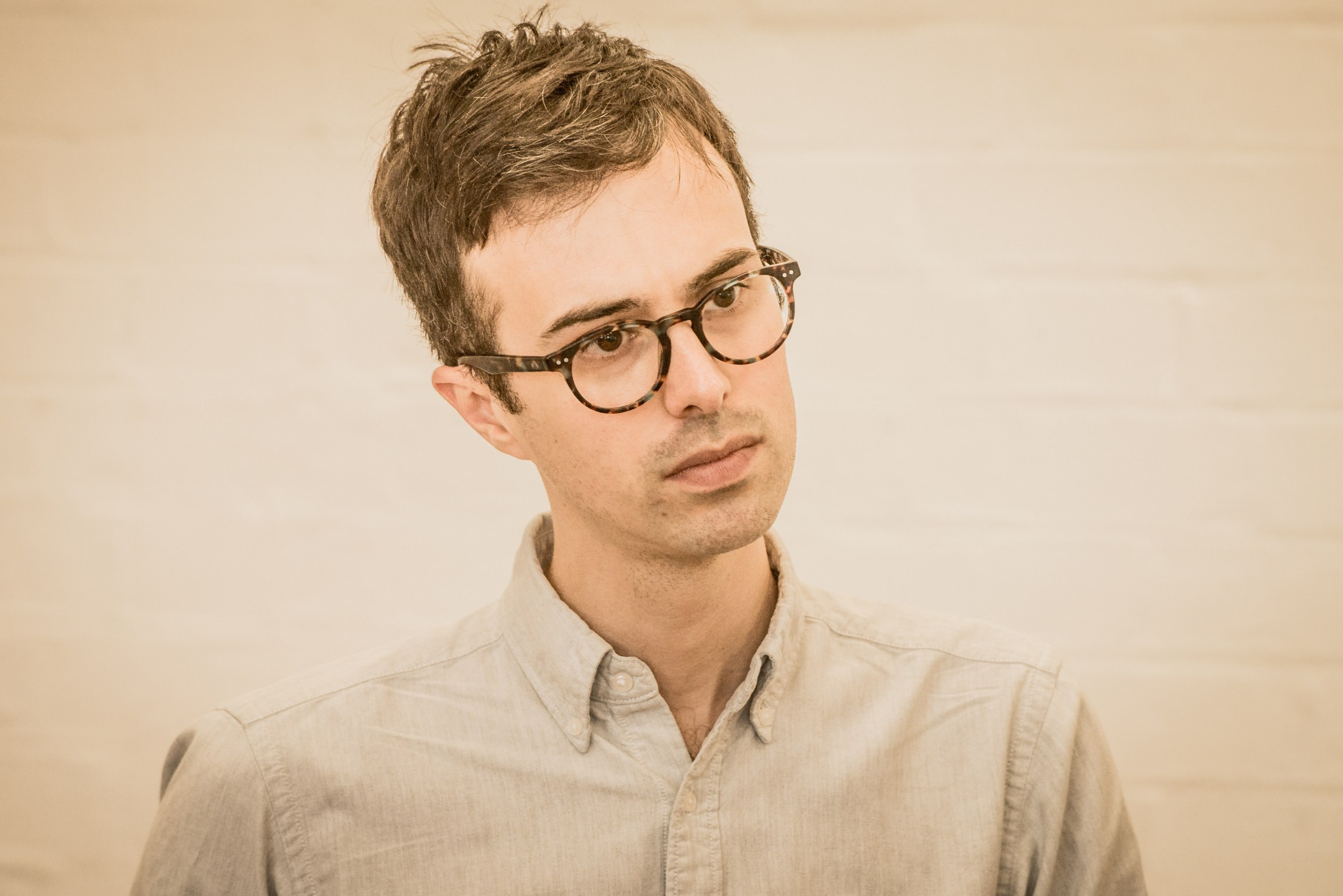 Director Luke Sheppard in rehearsals for WORKING, credit Robert Workman.jpg