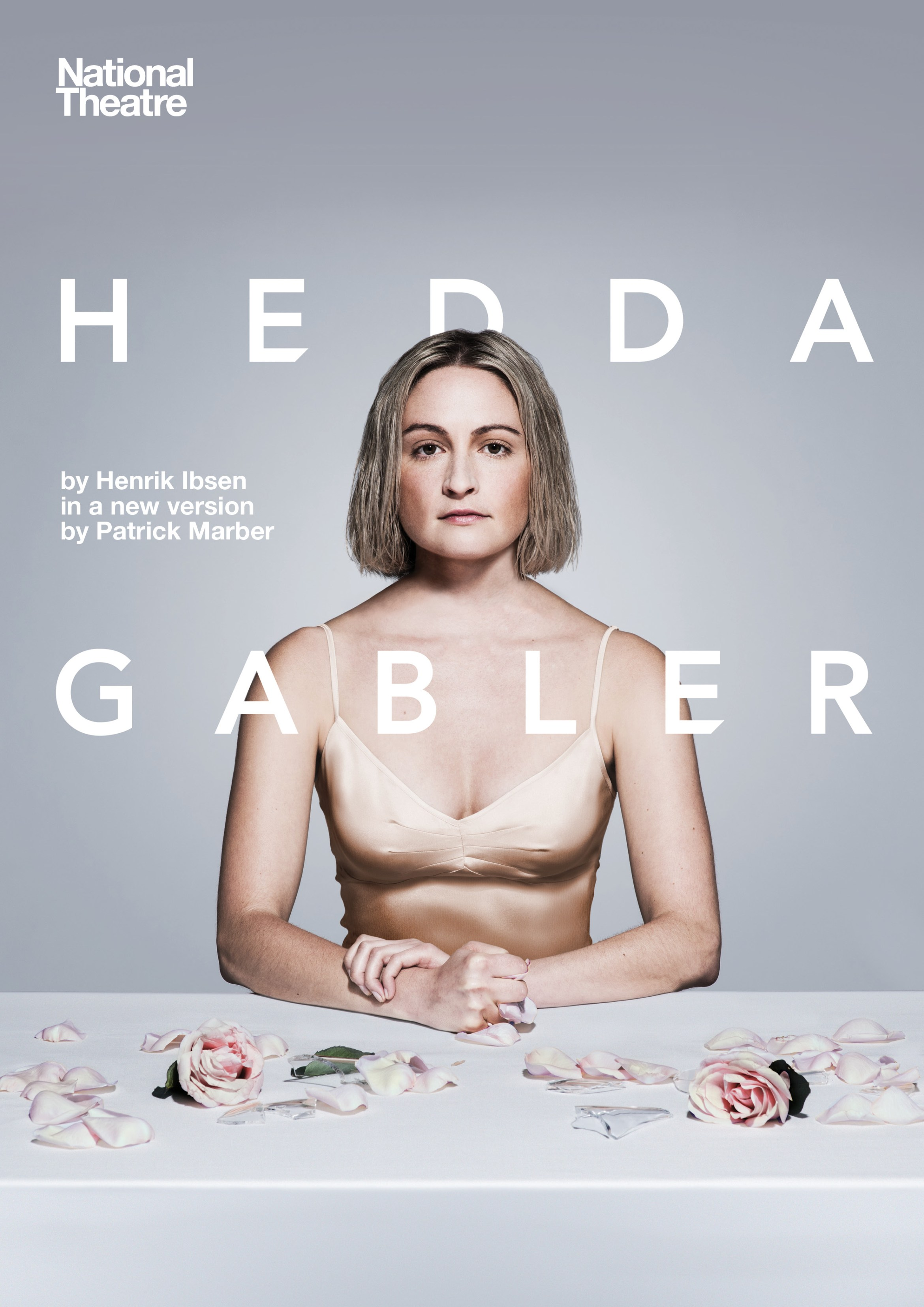 Hedda Gabler_Portrait with title_Photography (Lizzy Watts) by Hugo Glendinning