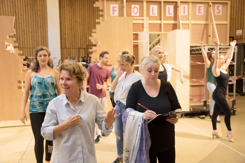 4. (l-r) Imelda Staunton and Liz Ewing FOLLIES - photo by Johan Persson
