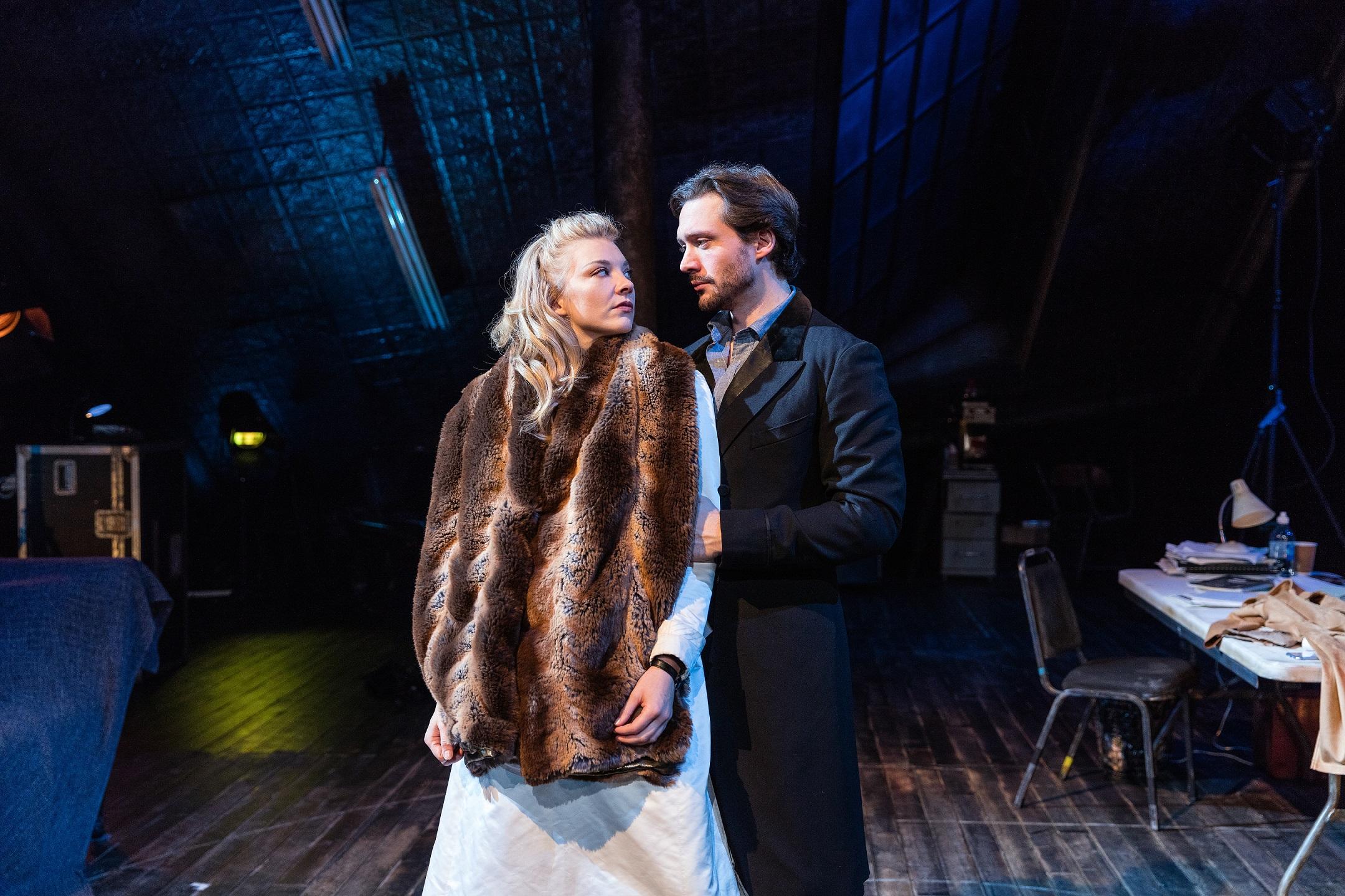 Natalie-Dormer-and-David-Oakes-in-Venus-in-Fur-at-Theatre-Royal-Haymarket.-Credit-Darren-Bell-3