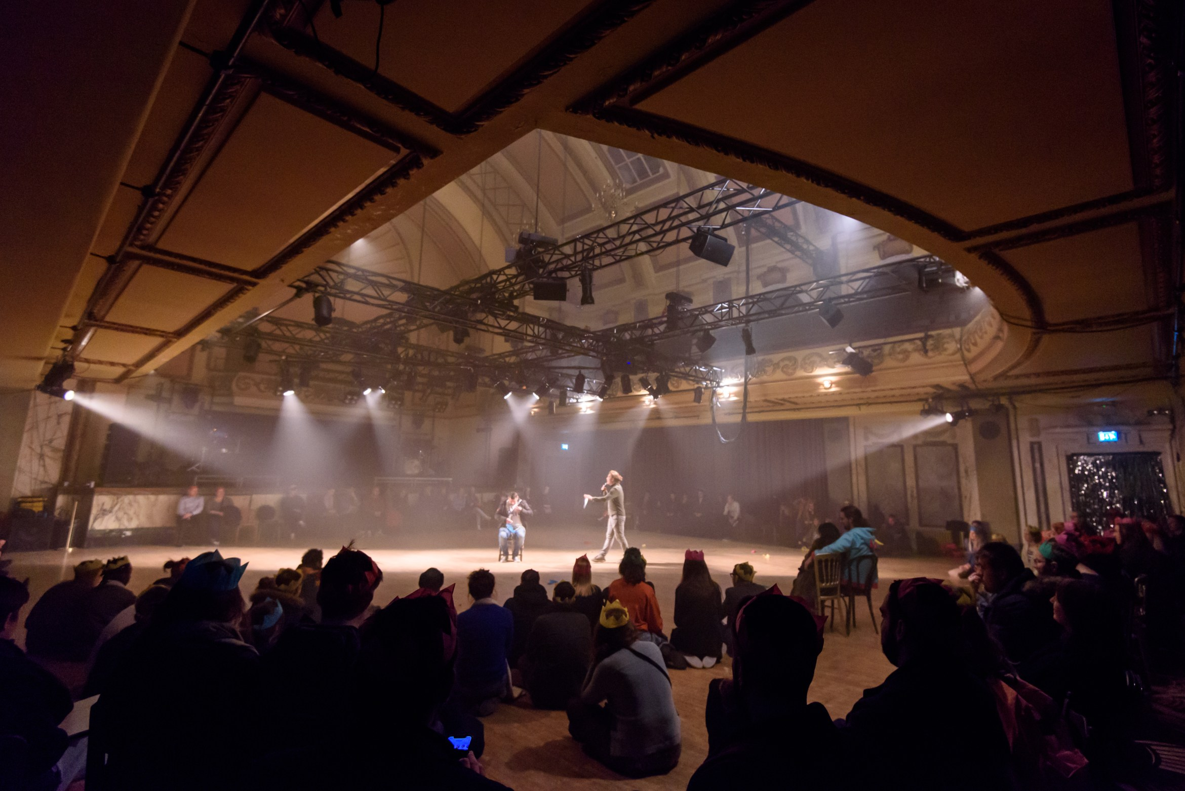 Party Skills for the End of the World at Shoreditch Town Hall. Credit - James Berry 4.jpg