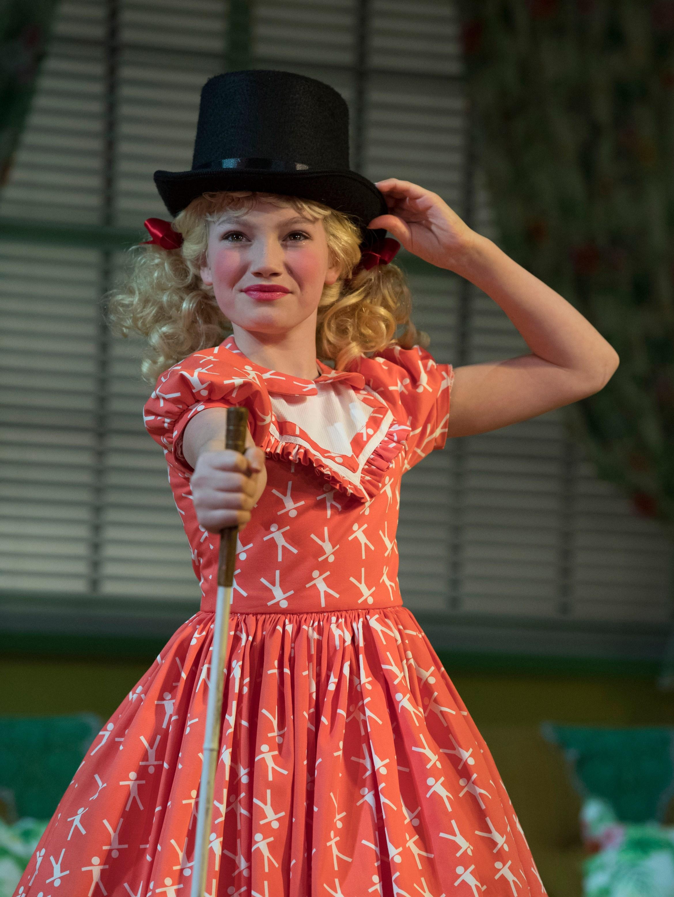 Ruthless! The Musical. Lucy Simmonds (Tina Denmark). Credit - Alastair Muir.jpg