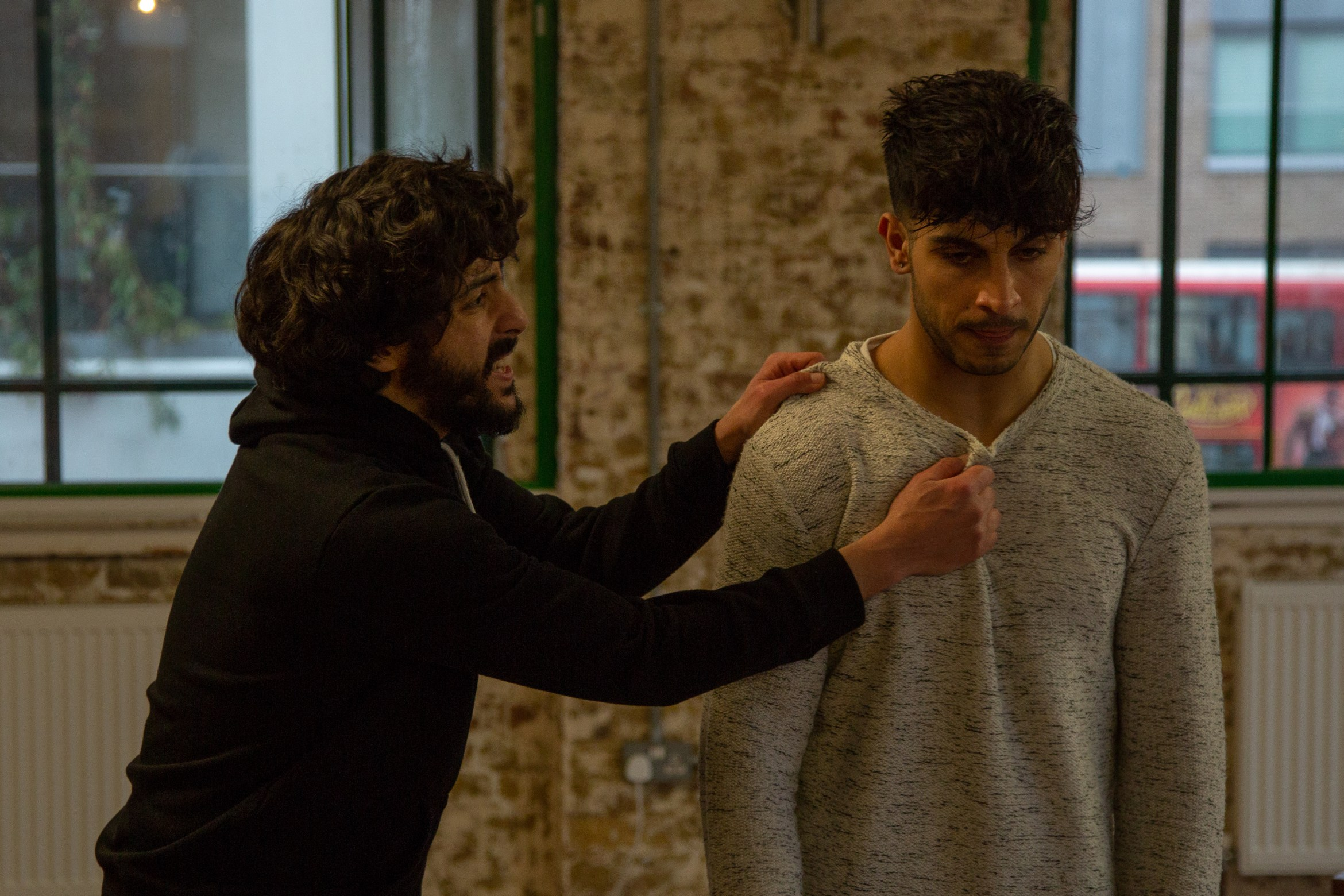Moormaid - Rehearsal Images (Ali Azhar and Moe Bar-El), courtesy of Meurig Marshall Photography.jpg