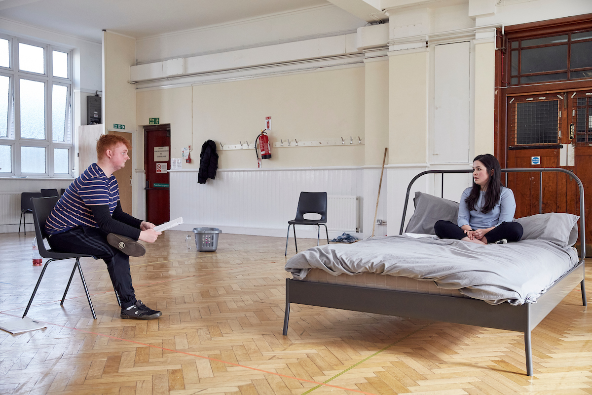 National Youth Theatre in rehearsals for The Fall. Credit Mark Cocksedge (10).jpg