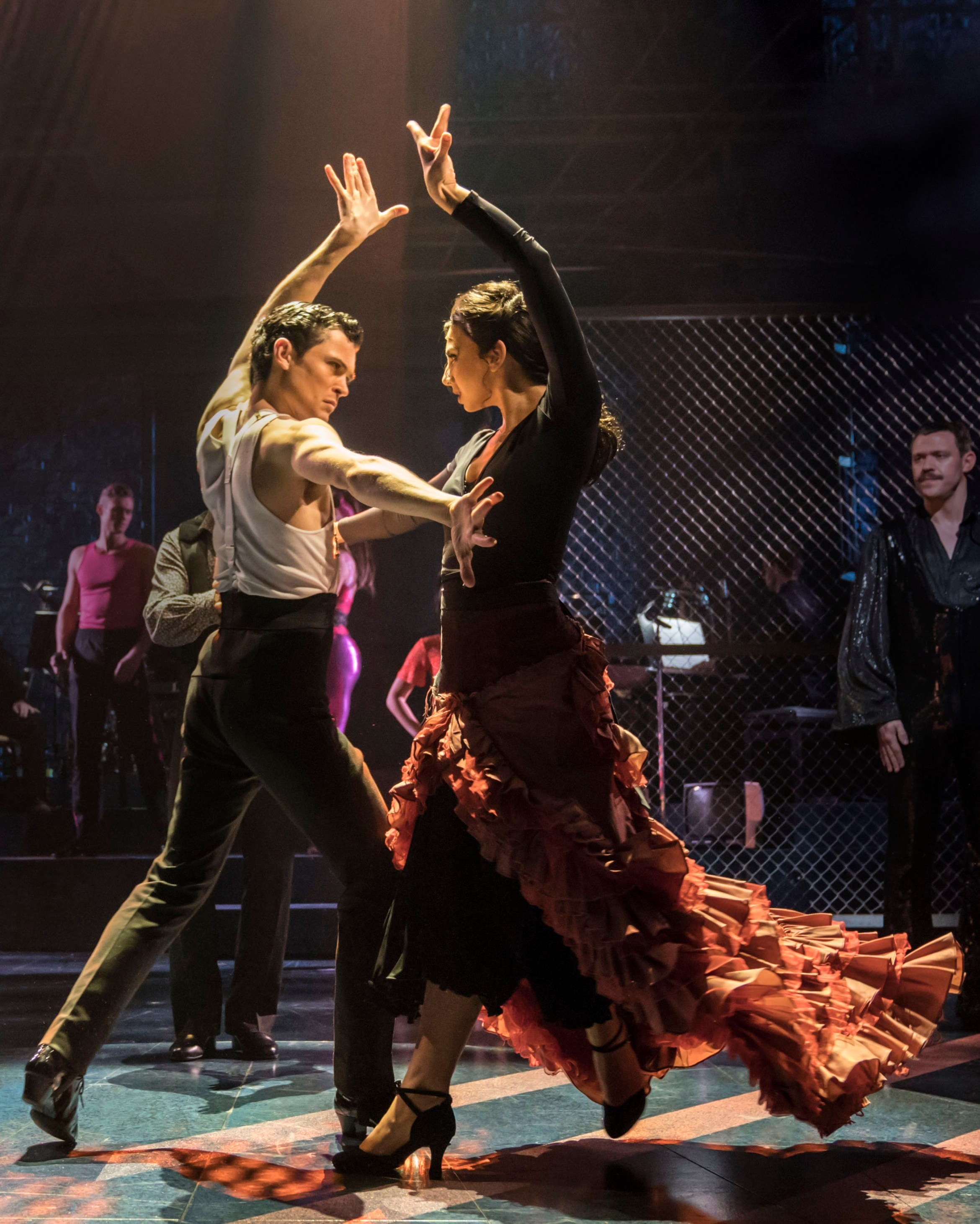 Strictly Ballroom London - Scott & Fran Paso Doble (Jonny Labey & Zizi Strallen) - photo by Johan Persson.jpg