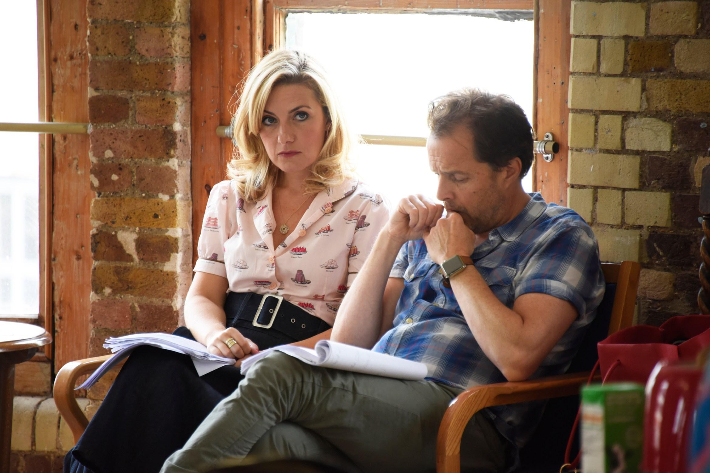 Alasdair Harvey (Peter Kroger) and Natalie Walter (Thelma).jpg