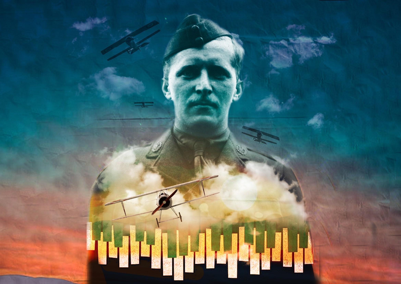 Billy Bishop Goes To War, Jermyn Street Theatre - courtesy of Arsalan Sattari (1)