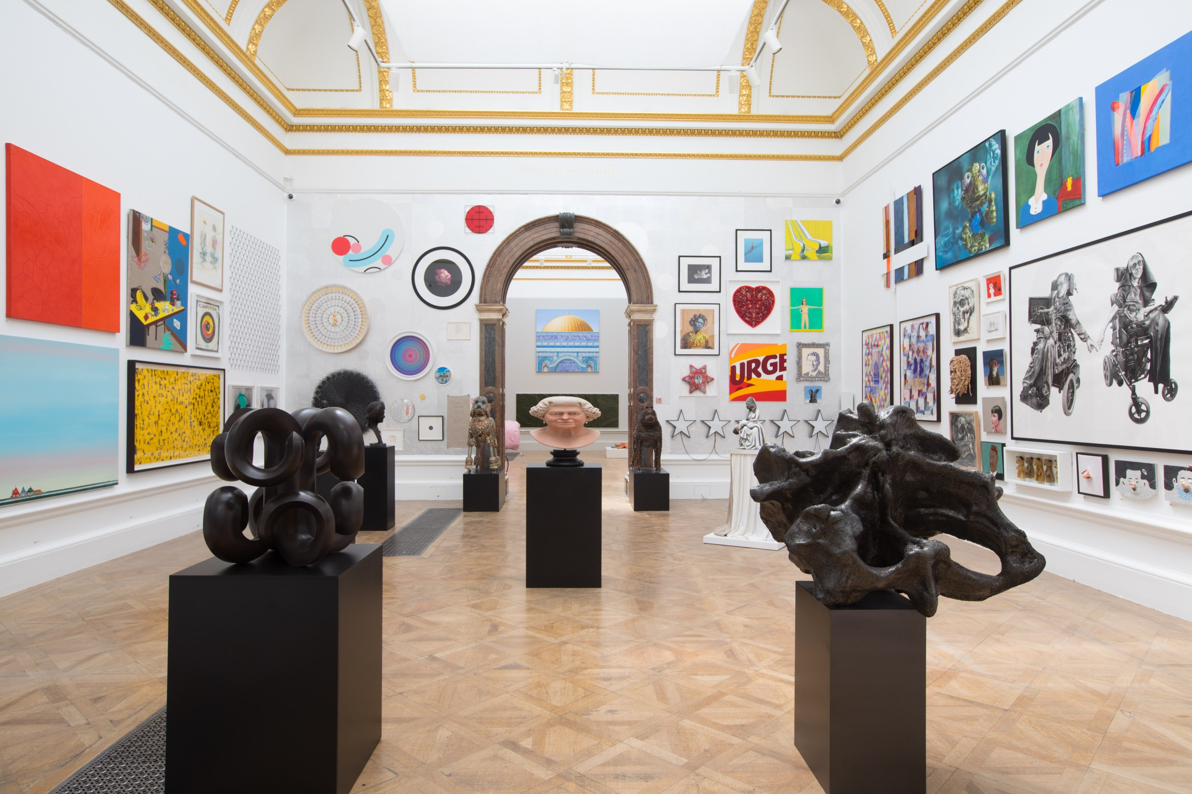 View of Summer Exhibition 2018 (c) David Parry