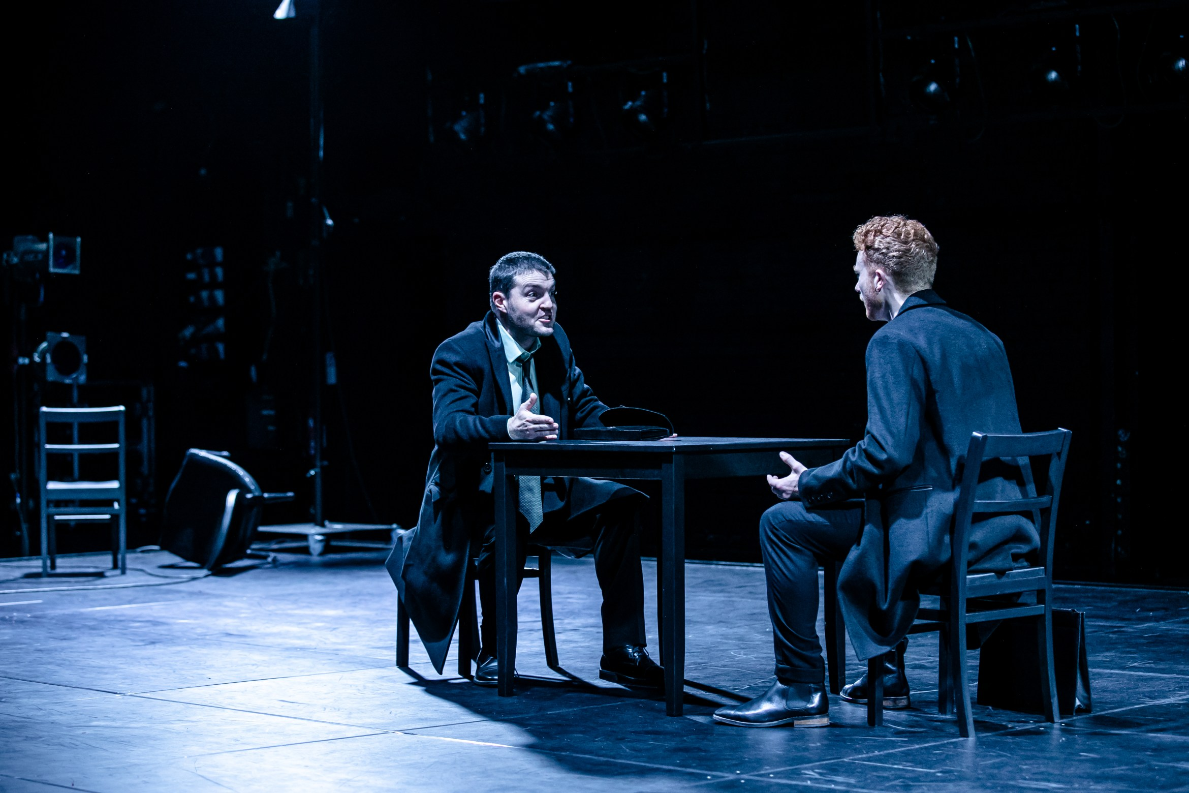 Tom Burke (Rodrigo, Marquis of Posa) and Samuel Valentine (Don Carlos) (c) The Other Richard