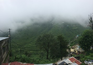 Mussoorie (from our friend's uncle's house)