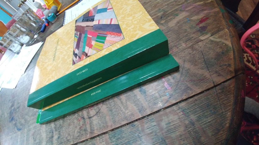 Books Yellow and Green UNwifedmotherexpletive