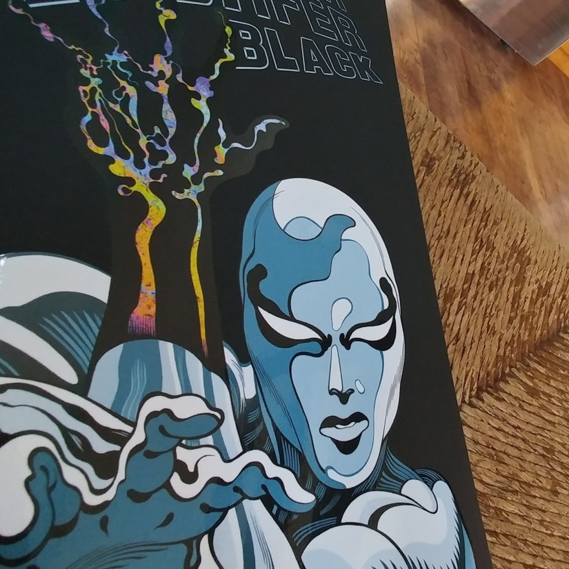 Silver Surfer Black Cover Unwifedmotherexpletive