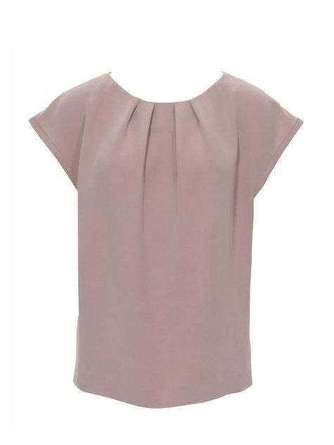 Burdastyle pleated blouse 042013