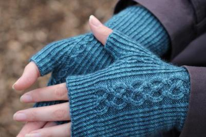 Liz Corke's gloves