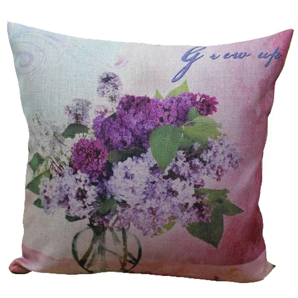 Purple Lilac Cushion Cover