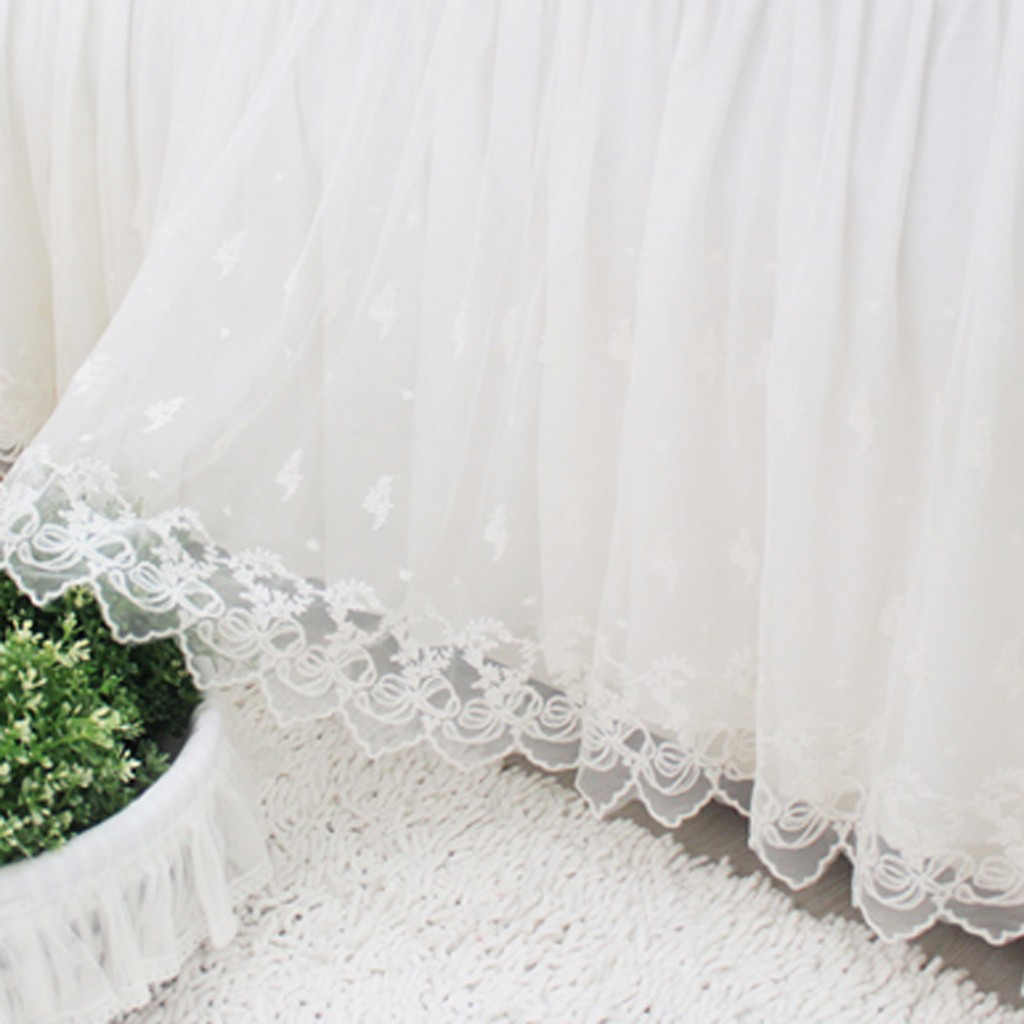 Lace Bed Skirt