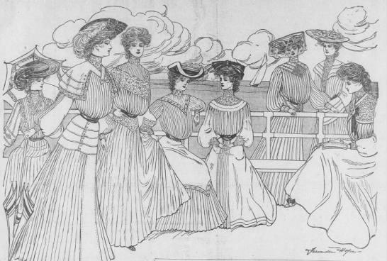 1903 Antique Ladies Dress