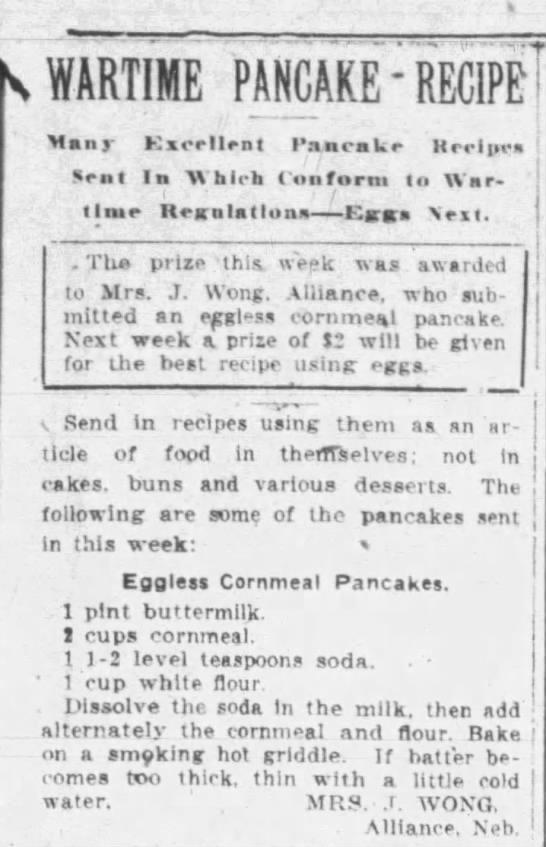 1918 May 17 - Lincoln Journal Star - Nebraska - Wartime Panackes