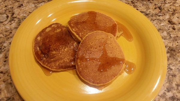 Mrs. Gausman's Pumpkin Pancake Recipe