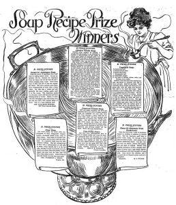 The Baltimore Sun 1911 Recipe Contest